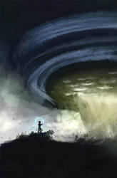 The storm by DamaiMikaz