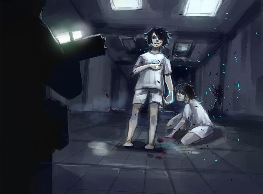 The escape by DamaiMikaz