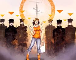 #02 Orange [ Rena ] by DamaiMikaz