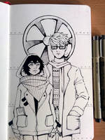 [Inktober] They were only children by DamaiMikaz