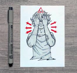 [Inktober] 13 Hurt by DamaiMikaz