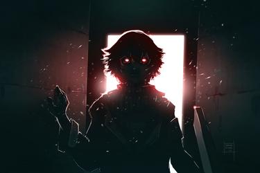 Those creepy eyes by DamaiMikaz