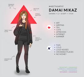 Meet the artist by DamaiMikaz