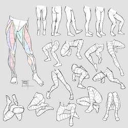 Sketchdump July 2017 [Legs] by DamaiMikaz