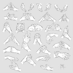 Sketchdump May 2018 [Both hands] by DamaiMikaz