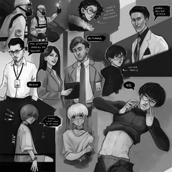 Sketchdump January 2019 [Random sketches] by DamaiMikaz