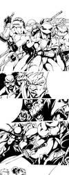 CaZ's TMNT comic. by BiggCaZ