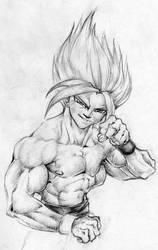 Son Goku by BiggCaZ
