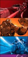 Teenage Mutant Ninja Turtles by BiggCaZ
