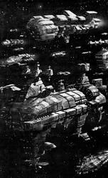 Kryomek Fleet by rmohr