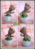 Chibi Groot by Lola22