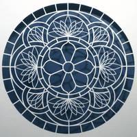 Paper Cuts...Lotus Window by ciomaria