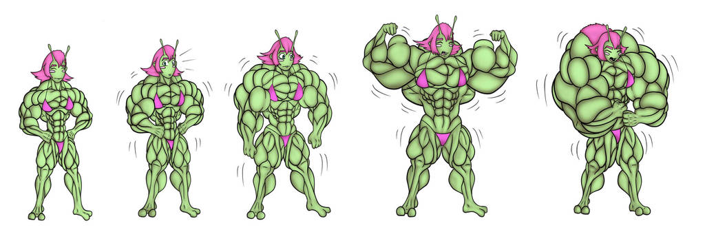 Ashlien Muscle Growth Sequence By Gijohn20 On Deviantart-4804