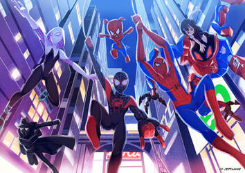 Into The Spider-verse by Jeffanime