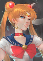 Usagi Portrait by UlielArt