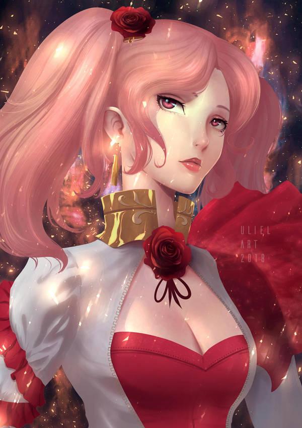 Reine D'Fleur by UlielArt
