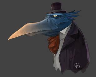Birdhat by BluntieDK