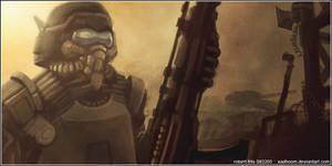 Peacekeeper by BluntieDK