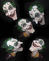 The Joker bust different angles by PatMW1983