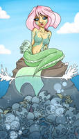 swimming with the fishes by myleafyentrails