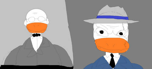The Ventriloquist and Mad Duck by thebigcrunchone9