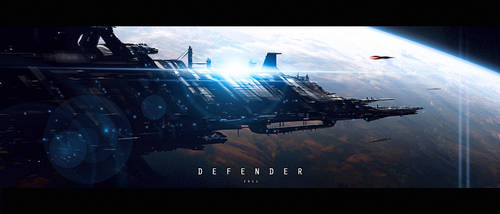 Defender by JamesLedgerConcepts
