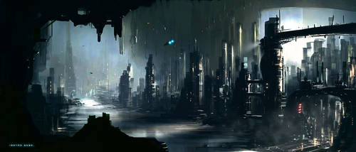 City 2080 by JamesLedgerConcepts