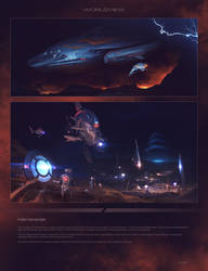 Worldview page preview - Mercenaries by JamesLedgerConcepts