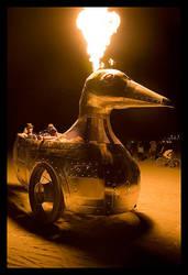 Duck Flambe by sideshowdesign