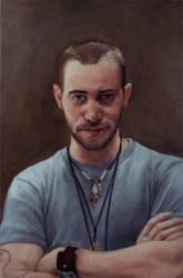 Self Portrait by DeRoodeKoning