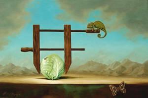 Still Life Of a Head Ache by LindaRHerzog
