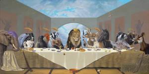 The Last Supper by LindaRHerzog