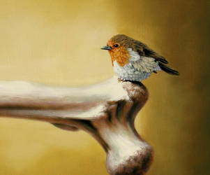 Digit's Balance  - det. Robin by LindaRHerzog