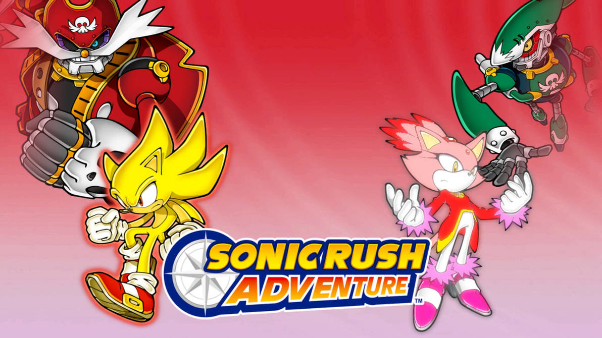Sonic Rush Adventure Wallpaper By Bluespeed360 On Deviantart