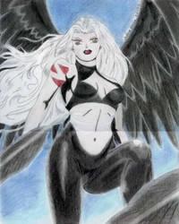 Raven the Demon Twin of Kida by GuyaricanKitten