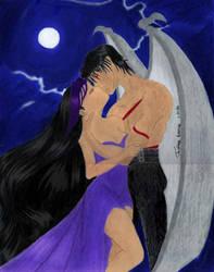 Moonlight Kiss on Photoshop by GuyaricanKitten