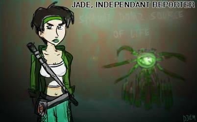 Jade, independant reporter by djiem