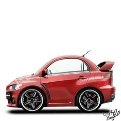 Evo X -minicar- by ollite20