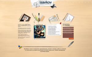 isavkov.net red - portfolio by sandprince