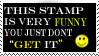 This stamp is funny by HisPaperAngel