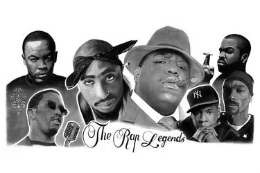The rap legends by ca5per