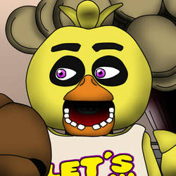 Chica's Face - Profile picture by Stygie