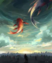 Great sky by RokuMaro