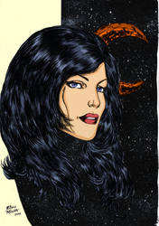 Donna Troy in the Stars by markdominic