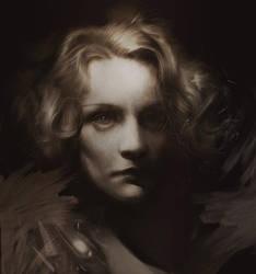 Marlene Dietrich by BellaBergolts