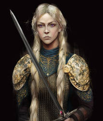 Visenya Targaryen by BellaBergolts