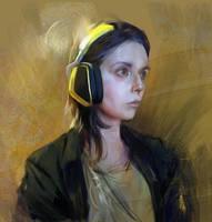 Self-portrait by BellaBergolts