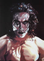 Brandon Lee - The Crow - 1994 by Priscillascreations