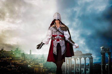 EZIO - ASSASSIN'S CREED 2 - COSPLAY 4 by Priscillascreations