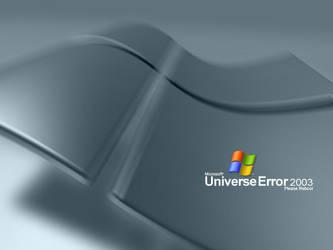 Windows Universe Error 2003 by vamphat